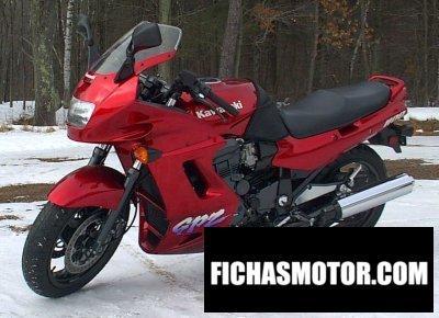 Imagen moto Kawasaki gpz 1100 año 1997