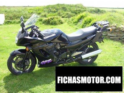 Ficha técnica Kawasaki gpz 1100 1998