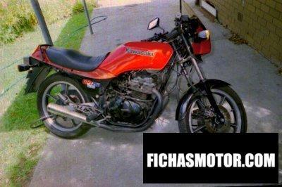 Imagen moto Kawasaki gpz 250 belt drive año 1983