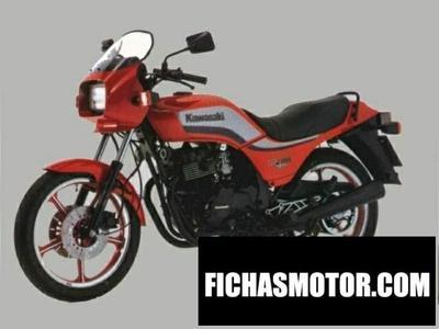 Ficha técnica Kawasaki gpz 305 1983