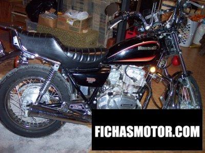 Imagen moto Kawasaki gpz 305 belt drive año 1987