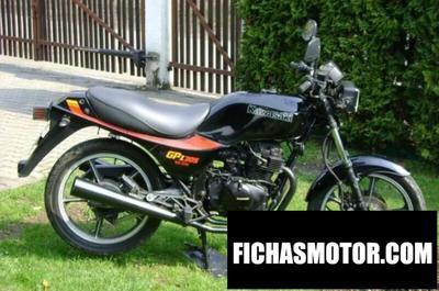 Imagen moto Kawasaki gpz 305 belt drive (reduced effect) año 1990