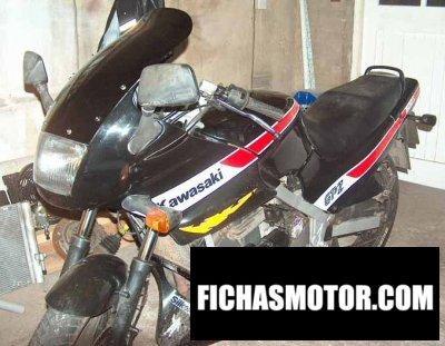 Ficha técnica Kawasaki gpz 500 s 1987