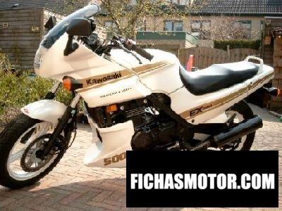 Imagen moto Kawasaki gpz 500 s año 1988
