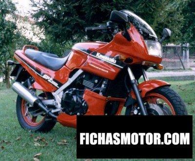 Ficha técnica Kawasaki gpz 500 s 1989