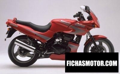 Imagen moto Kawasaki gpz 500 s año 1998