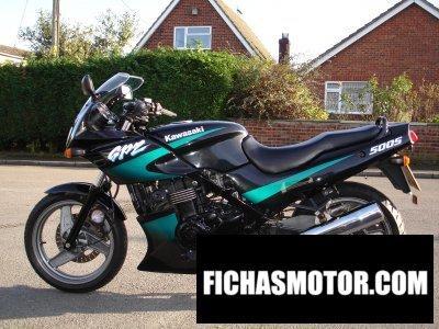 Imagen moto Kawasaki gpz 500 s año 1999
