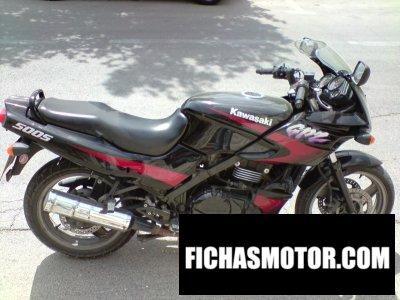 Ficha técnica Kawasaki gpz 500 s 2000