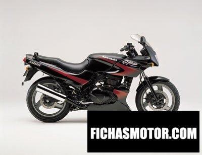 Imagen moto Kawasaki gpz 500 s año 2001