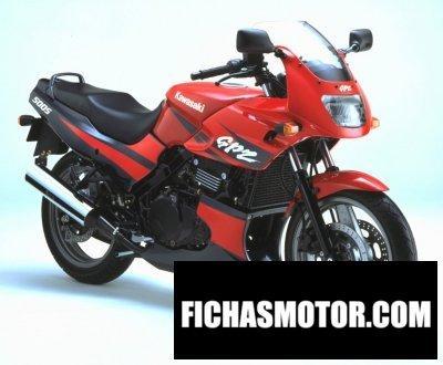 Imagen moto Kawasaki gpz 500 s año 2002