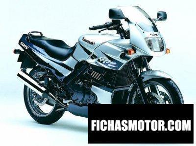 Ficha técnica Kawasaki gpz 500 s 2003