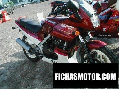 Ficha técnica Kawasaki gpz 500 s (reduced effect #2) 1990