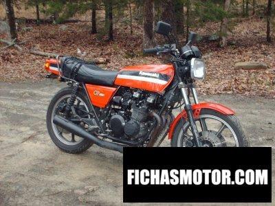 Ficha técnica Kawasaki gpz 550 1981