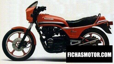 Ficha técnica Kawasaki gpz 550 1982