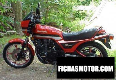 Ficha técnica Kawasaki gpz 550 1983