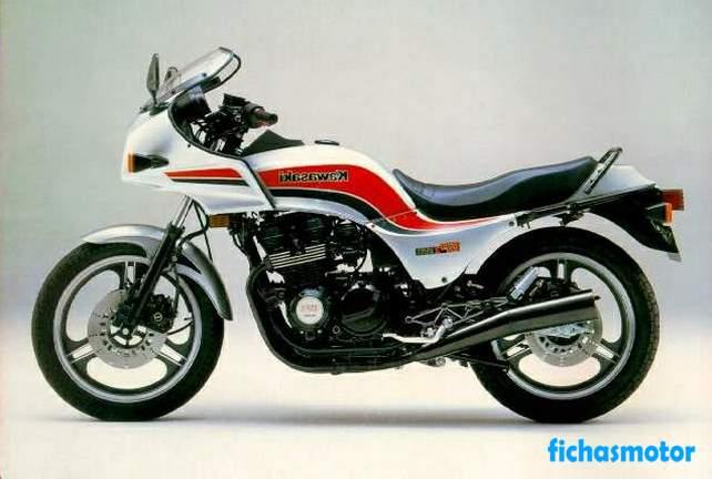 Ficha técnica Kawasaki gpz 550 1984