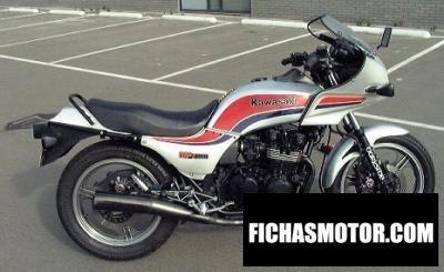 Imagen moto Kawasaki gpz 550 año 1985