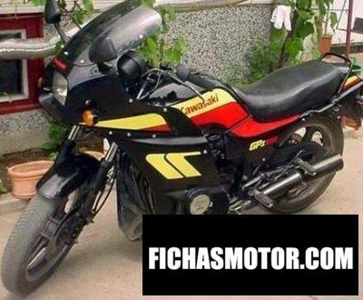 Ficha técnica Kawasaki gpz 550 1986