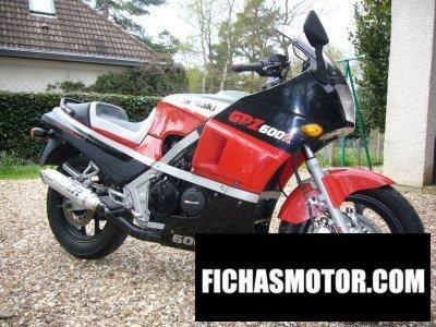 Imagen moto Kawasaki gpz 600 r año 1985