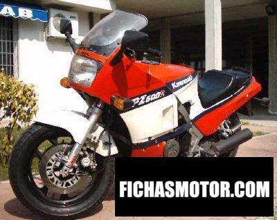 Imagen moto Kawasaki gpz 600 r año 1986