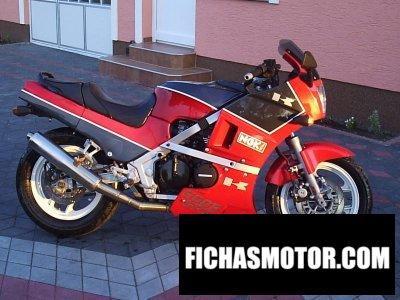 Imagen moto Kawasaki gpz 600 r año 1988