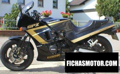 Imagen moto Kawasaki gpz 600 r año 1990