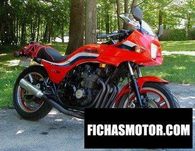 Imagen moto Kawasaki gpz 750 año 1983