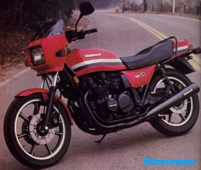 Imagen moto Kawasaki gpz 750 año 1985