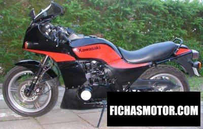 Imagen moto Kawasaki gpz 750 año 1988