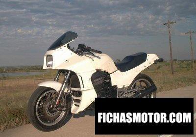 Ficha técnica Kawasaki gpz 900 r 1984