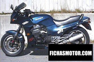Imagen moto Kawasaki gpz 900 r año 1985