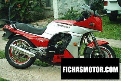 Imagen moto Kawasaki gpz 900 r año 1986