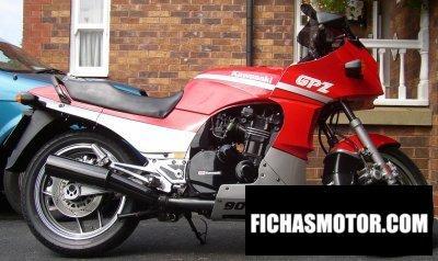 Imagen moto Kawasaki gpz 900 r año 1987