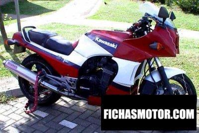 Ficha técnica Kawasaki gpz 900 r 1988