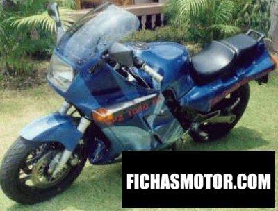 Imagen moto Kawasaki gpz 900 r año 1989