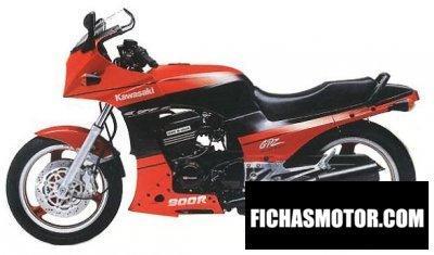 Imagen moto Kawasaki gpz 900 r año 1990