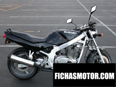 Ficha técnica Kawasaki gs 500 e 1995