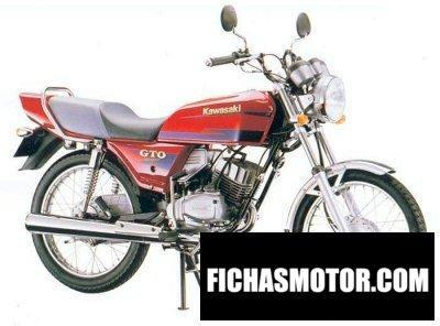 Imagen moto Kawasaki gto 125 año 1990