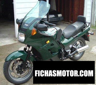 Ficha técnica Kawasaki gtr 1000 1994