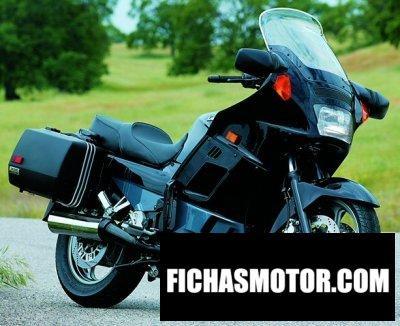 Imagen moto Kawasaki gtr 1000 año 1995