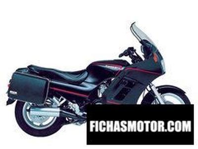 Ficha técnica Kawasaki gtr 1000 1996