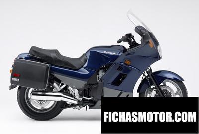 Ficha técnica Kawasaki gtr 1000 1997