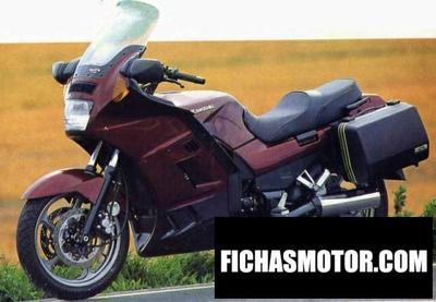 Ficha técnica Kawasaki gtr 1000 1998