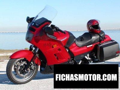 Imagen moto Kawasaki gtr 1000 año 2000