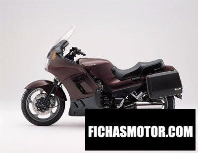 Ficha técnica Kawasaki gtr 1000 2001