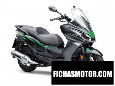 Ficha técnica Kawasaki J125 2020
