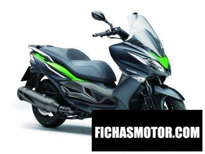 Ficha técnica Kawasaki j300 2014