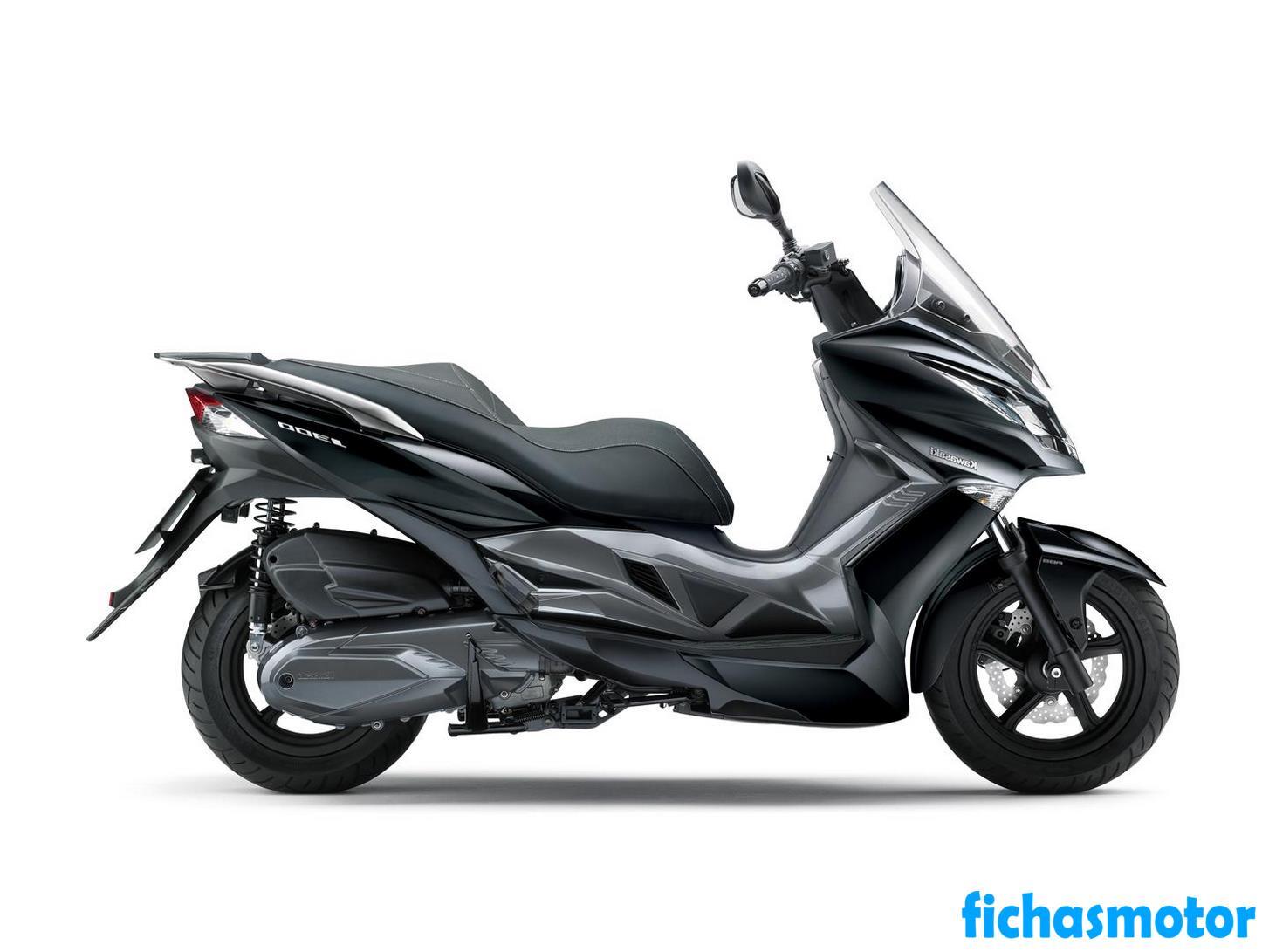 Imagen moto Kawasaki J300 año 2019