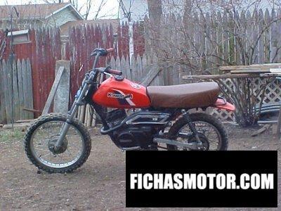 Imagen moto Kawasaki kd 80 m año 1986