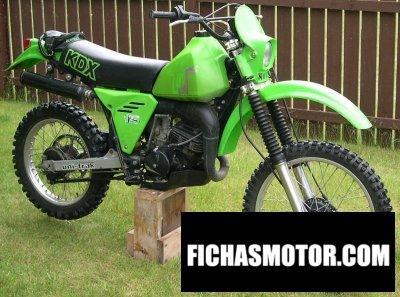 Imagen moto Kawasaki kdx 175 año 1982